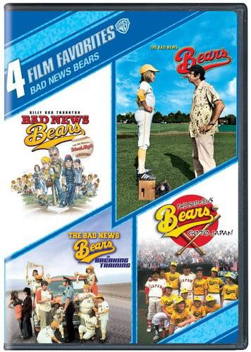 4 Film Favorites: Bad News Bears ( (DVD)) by PARAMOUNT-WARNER