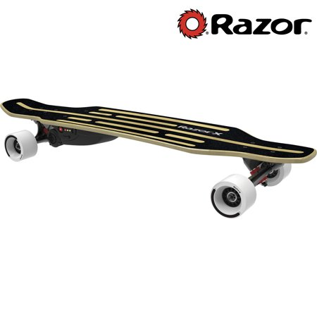 Razor Electric Longboard Skateboard with Bamboo Wood