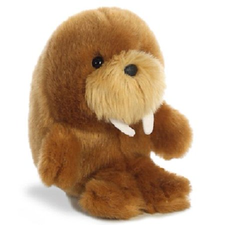 Waldo Walrus Roly Pets 5 inch - Stuffed Animal by Aurora Plush (16820)