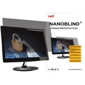 "BlindScreen Standard Screen Filter Crystal Clear, Matte - For 24""LCD Monitor"