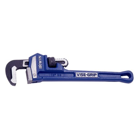 "IRWIN 274101 - Vise-Grip 1-1/2"" SAE Serrated Jaws 10"" Cast Iron Straight Pipe Wrench"
