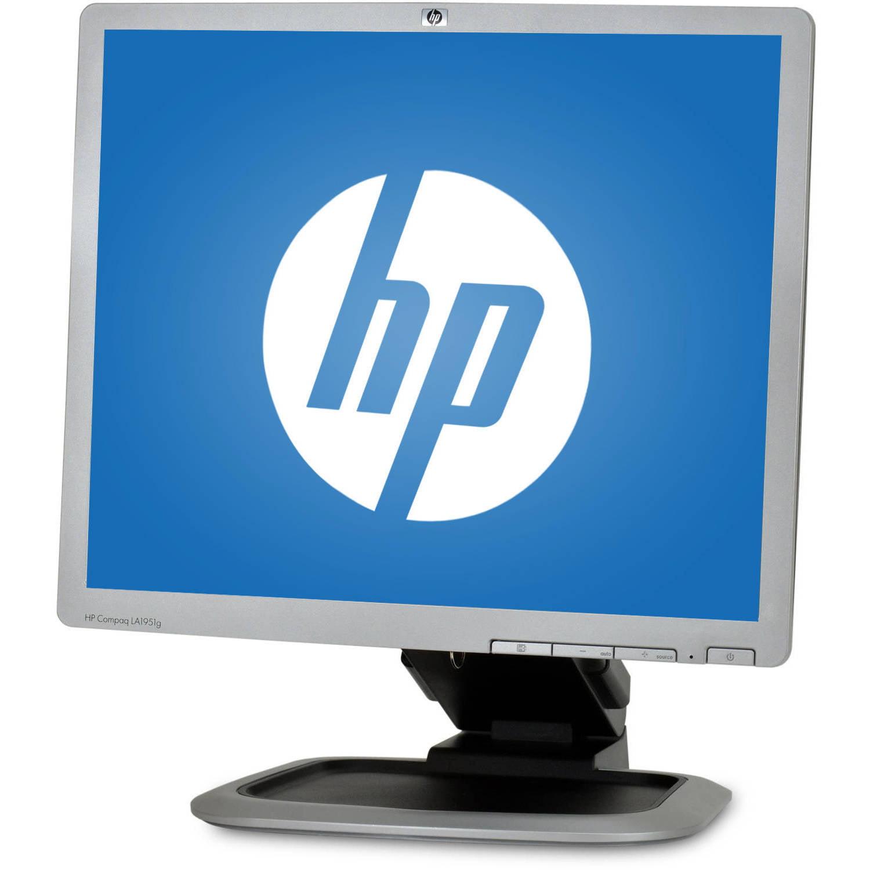 """Refurbished HP 19"""" LCD Monitor (Mixed Silver/Black)"""