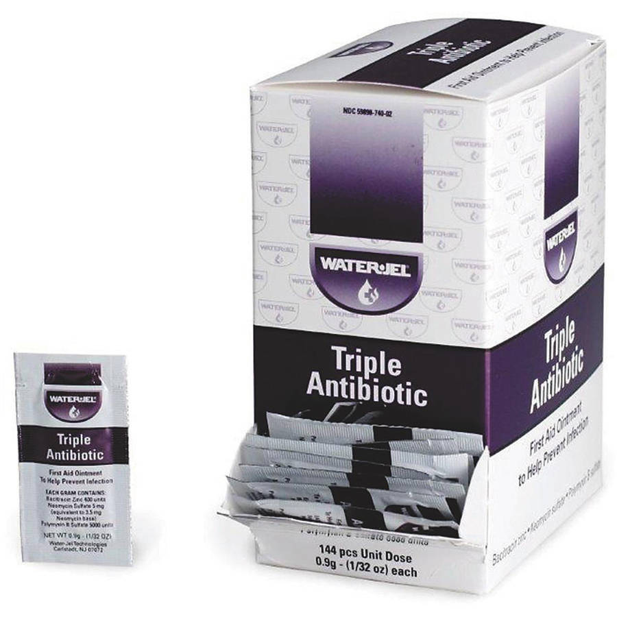 Image of Triple Antibiotic Ointment Pack, .9Gm, 144 Per Box
