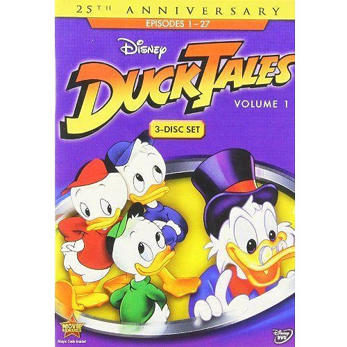 DUCKTALES V01 (DVD/3 DISC/RE-PKGD)