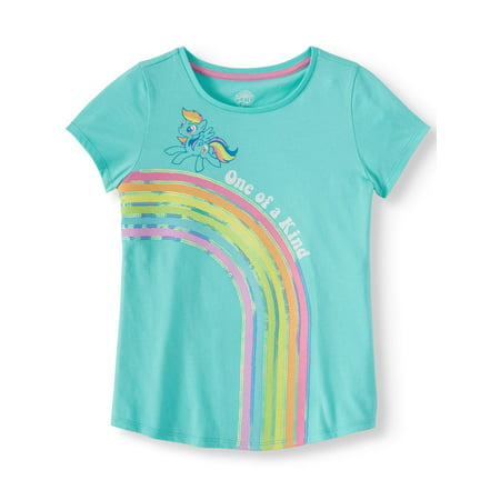Rainbow Dash Graphic T-Shirt (Little Girls & Big Girls)
