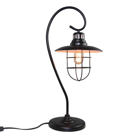 Lnc table lamp black desk lamp for living room - Black table lamps for living room ...