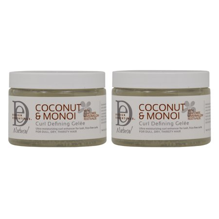 Design Essentials Coconut Monoi Curl Defining Gelee 12 Oz Pack Of