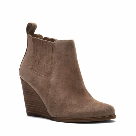 Jessica Simpson Women's Carolynn Slater Taupe /Oiled Suede 9.5 M US - image 1 of 5