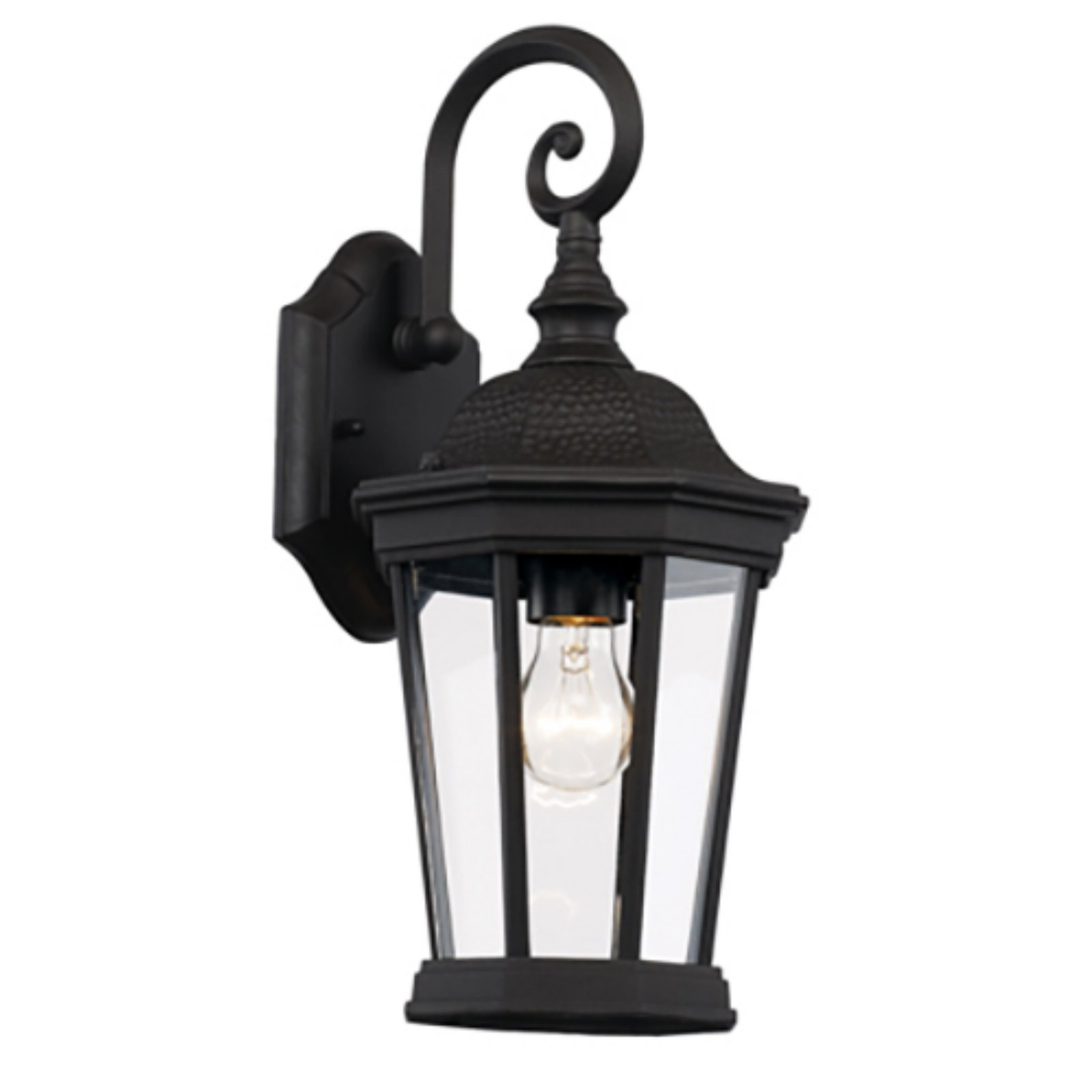 Trans Globe Lighting Westfield 40400 BK Outdoor Wall Lantern