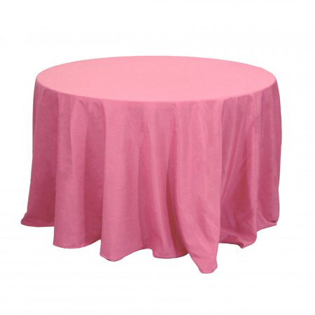 Koyal Wholesale Round Polyester Tablecloth, 120
