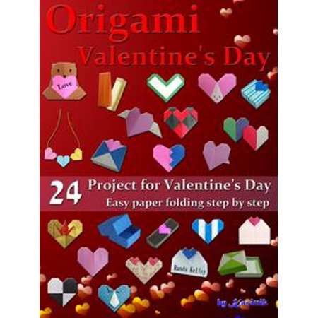 Party Origami (Origami Valentine's Day: 24 Paper Folding for Valentine's Day - eBook)