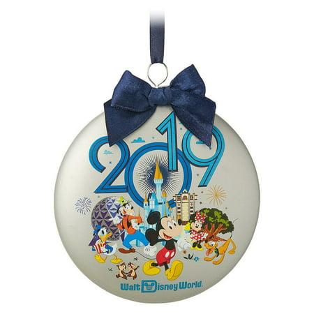 Halloween In Disney World 2019 (Disney Parks Walt Disney World Mickey Friends 2019 Disc Ornament New with)