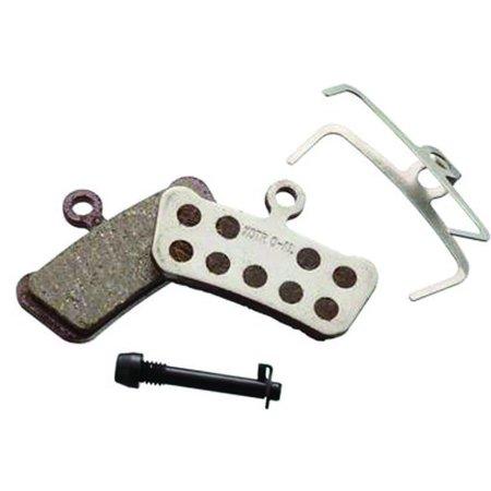 avid elixir trail disc brake pads pair (organic pad, aluminum backing)