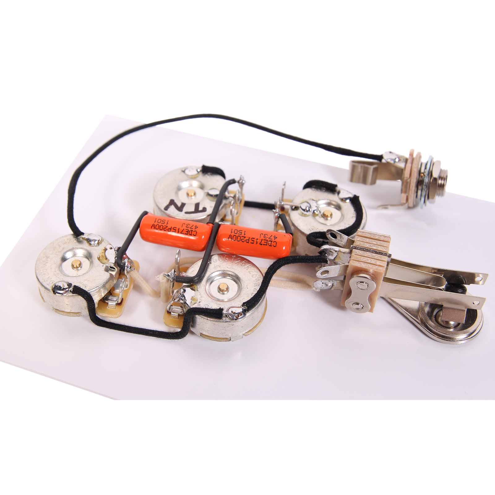 Duncan SRB-1 Pickup Set for Rickenbacker Bass Guitar + 920D RIC-B Wiring  Harness - Walmart.com
