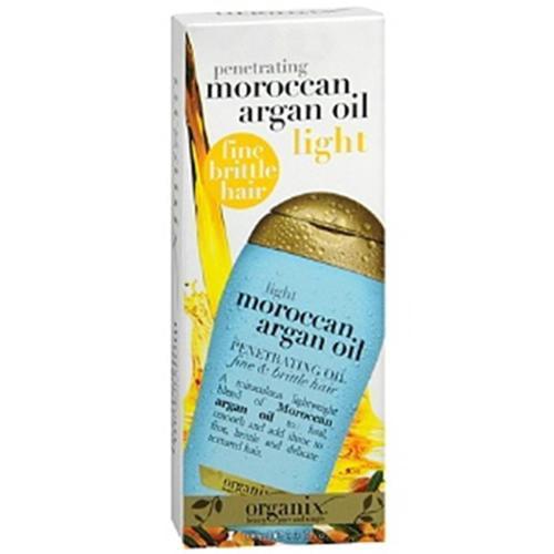 Organix Moroccan Argan Oil Penetrating Oil Light 3.30 oz (Pack of 6)