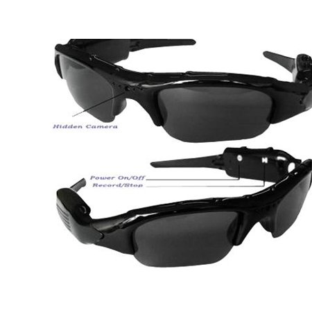 Hands Free Wireless Color Mini DVR Spy Cam Sunglasses