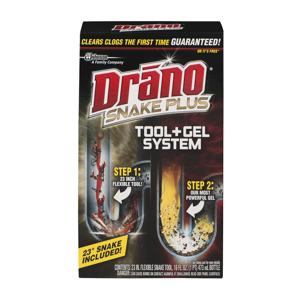 Drano Snake Plus Tool + Gel System, 1.0 KIT