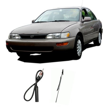 Toyota Corolla 4 Door 1988-1993 Factory Replacement Radio Stereo Custom Antenna ()