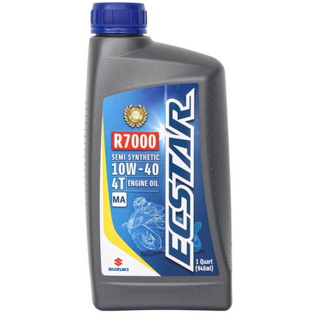 Suzuki ECSTAR R7000 Motorcycle Semi Synthetic Engine Oil 10W40 1