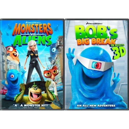 Monsters Vs. Aliens / B.O.B.'s Big Break: Ginormous Double Pack (Widescreen)