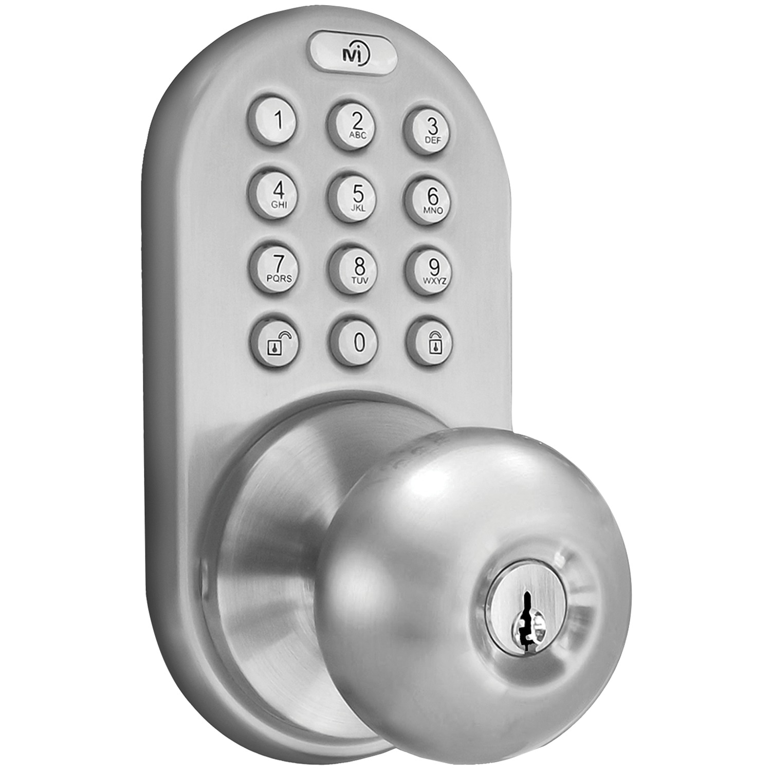 MiLocks XKK-02SN X-Series Interior Doorknob (Satin Nickel)