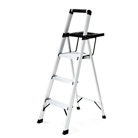 Rubbermaid Rma 3xst 3 Step Lightweight Aluminum Step Stool