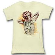 American Classics Marilyn Monroe Skin And Bones T Shirt