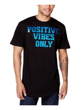 f10bbb53a Product Image Sean John Mens Postive Vibes Only Graphic T-Shirt