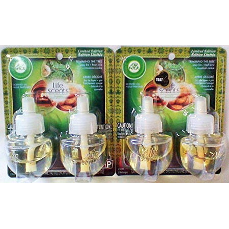 Air Wick Scented Oil Twin Refill Life Scents Trimming