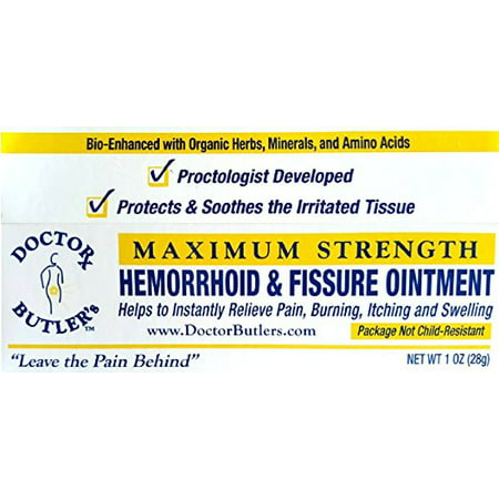 Doctor Butler's Hemorrhoid & Fissure Ointment