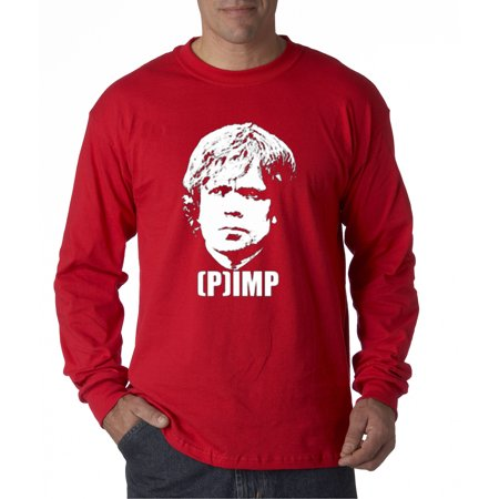 New Way 168 - Unisex Long-Sleeve T-Shirt Tyrion Lannister Pimp Imp Got Parody - Funny Pimp