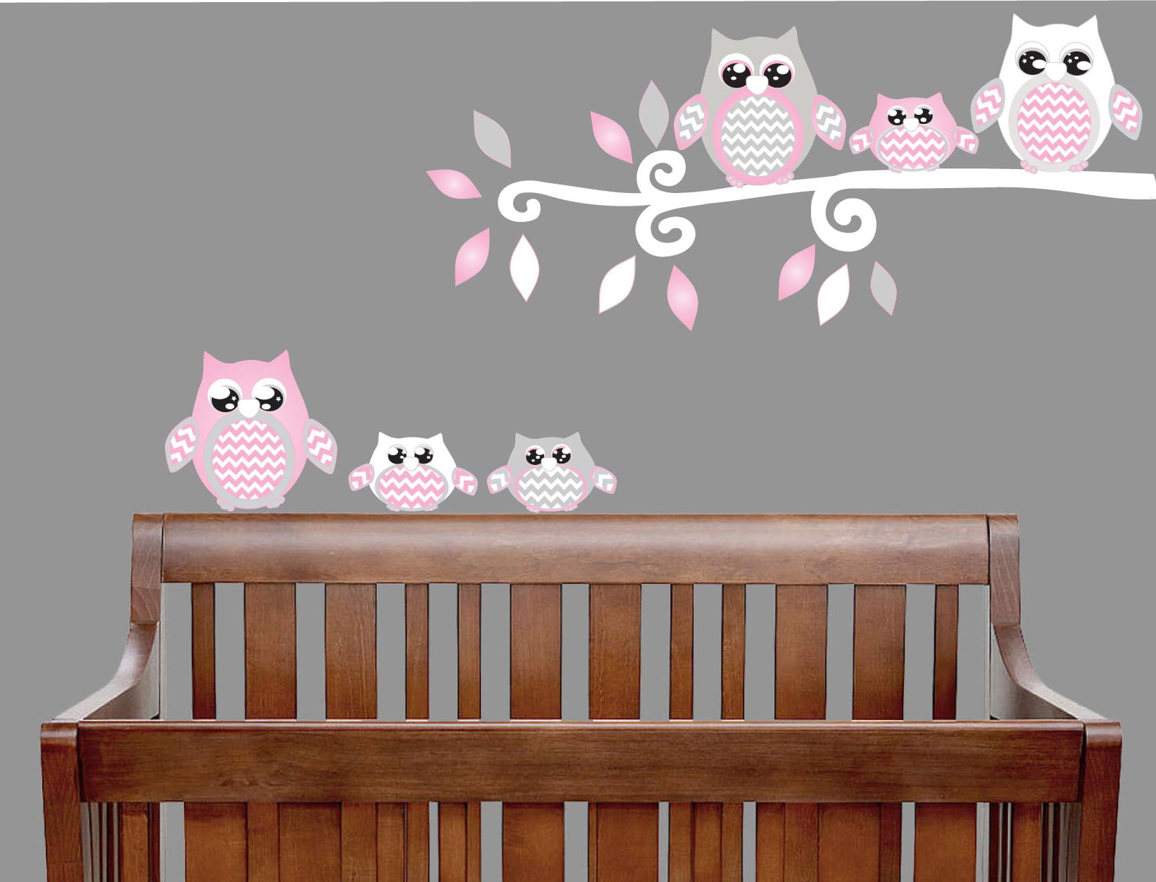 Wall Art Decal Girl Room Personalised Owl Name Wall Sticker your wall stickers