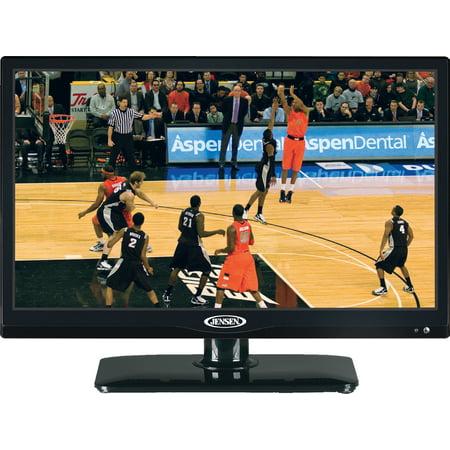 720p Widescreen Flat Panel Lcd - JENSEN JTV1917DVDC 19