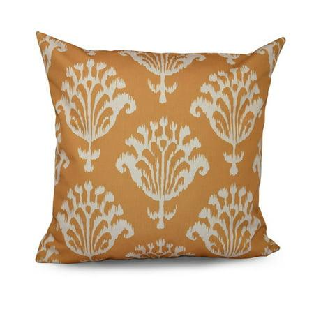 E By Design Floral Motifs Decorative Throw Pillow