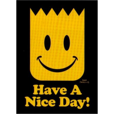 Simpsons Have A Nice Day Magnet SM4670