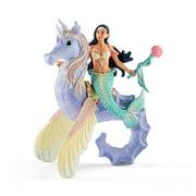 Schleich Bayala, Isabelle, Sea Horse with Rider Toy Figure