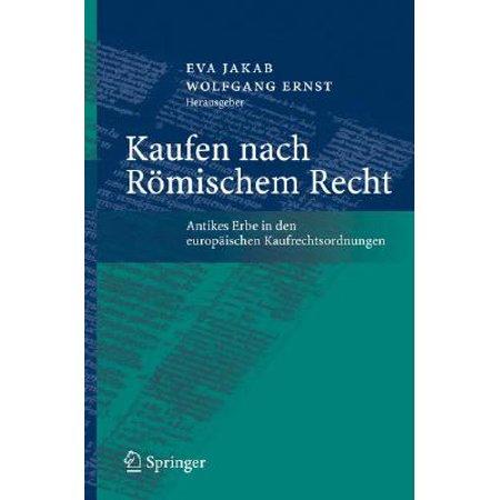 Kaufen Nach R�mischem Recht : Antikes Erbe in Den Europ�ischen Kaufrechtsordnungen (Skibrille Online Kaufen)