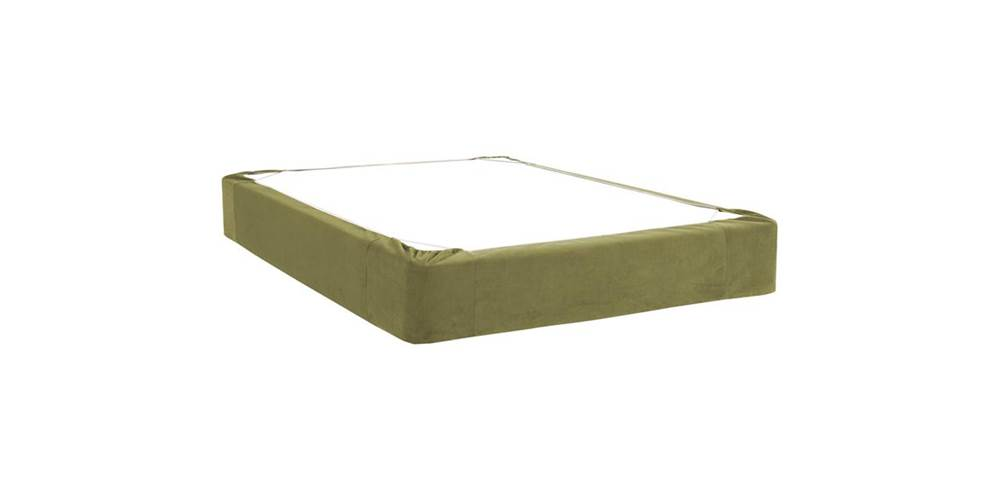 Box Spring Cover in Moss (Twin: 75 in. L x 38 in. W x 13.5 in. H (5 lbs.)) by Howard Elliott Collection