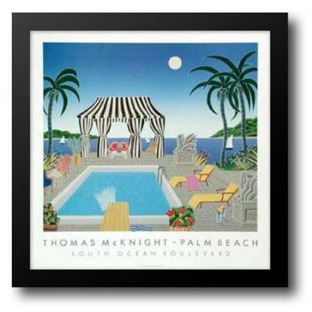 South Ocean Boulevard 31x31 Framed Art Print by McKnight,