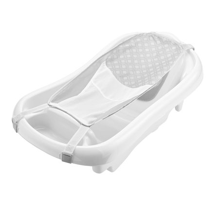 The First Years Sure Comfort Newborn to Toddler Baby Bath Tub, Infant Bath Tub, White](Baby Bath Tubs Walmart)