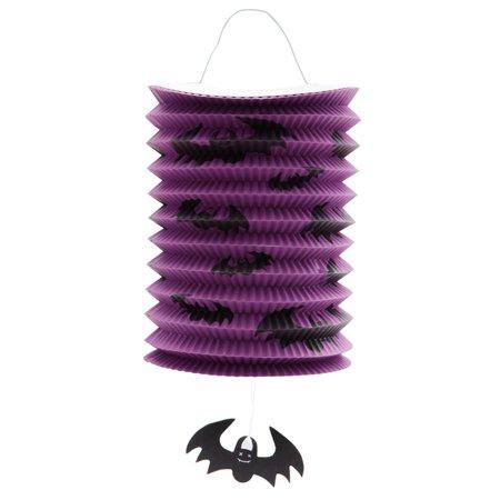 Organ Trail Halloween (Halloween Decorations Lights, Halloween Children's Portable Folding Organ Paper Lantern For)