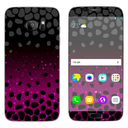 Skins Decals For Samsung Galaxy S7 Edge Spotted Pink Black