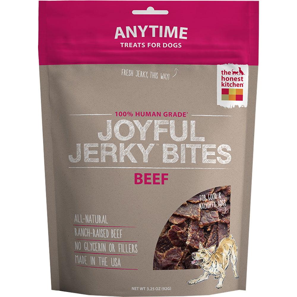 Honest Kitchen Joyful Jerky Bites Beef 3.25 oz by The Honest Kitchen Inc