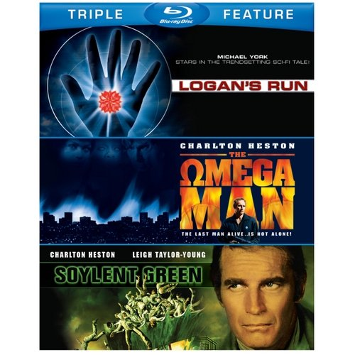 Soylent Green / Logan's Run / The Omega Man (Blu-ray)