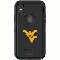 West Virginia Mountaineers OtterBox iPhone X/XS Defender Phone Case - Black