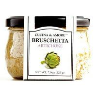 Cucina & Amore Artichoke Bruschetta 7.5 oz each (1 Item Per Order)