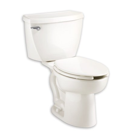 - American Standard 2462.016.020 Cadet Elongated Two-Piece Pressure-Assisted 1.6 GPF Toilet with 12