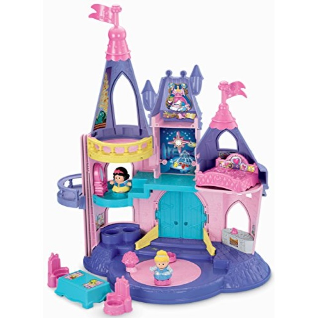 Fisher Price Little People Disney Princess, Songs Palace by FISHER PRICE