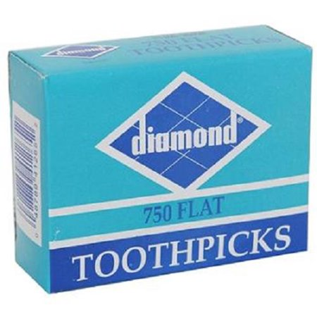 Product Of Diamond, Flat Toothpicks, Count 1 - Household Accessories / Grab Varieties & Flavors - Long Toothpicks