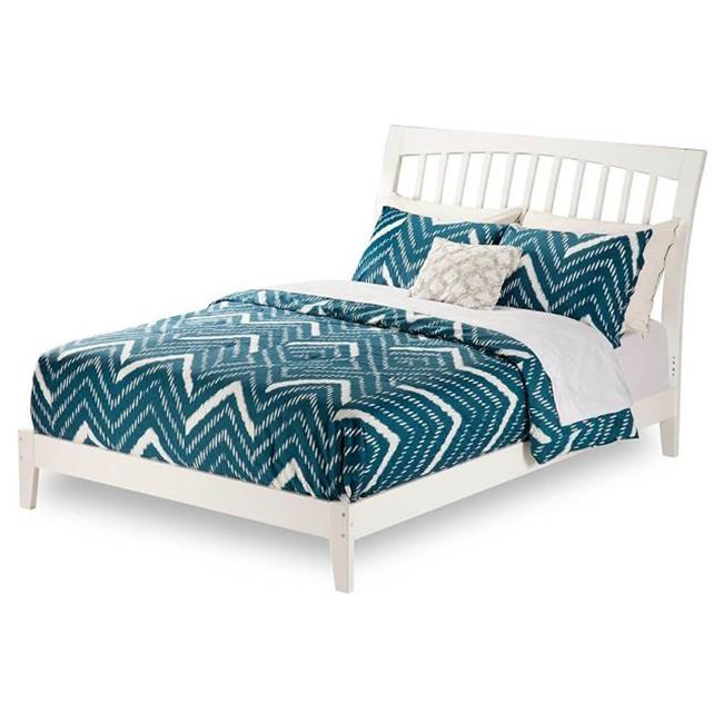 Atlantic Furniture AR9241032 Orleans Queen Size Bed, White